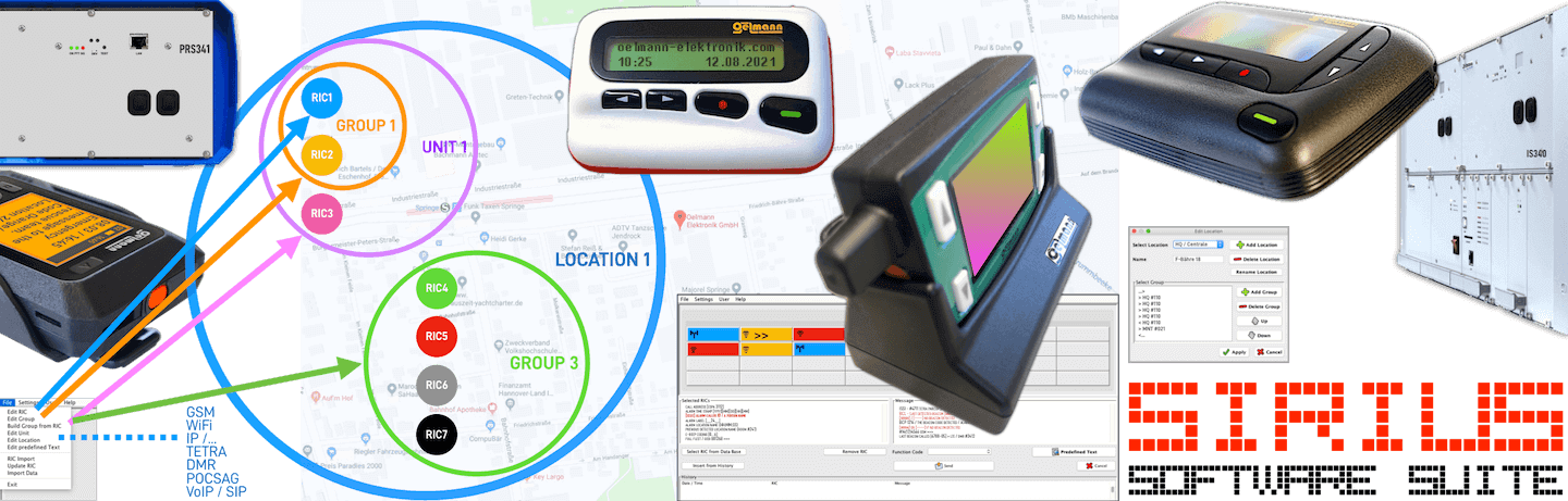 Pager chargers